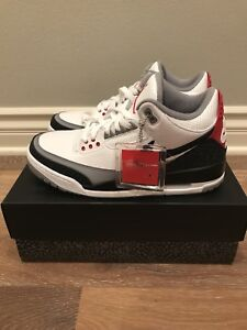 hot sale online b7c31 7acdb Image is loading NEW-IN-BOX-NIKE-AIR-JORDAN-3-RETRO-