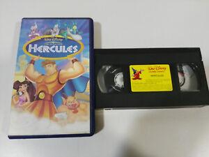 HERCULES-LOS-CLASICOS-WALT-DISNEY-VHS-CINTA-TAPE-CASTELLANO-amp
