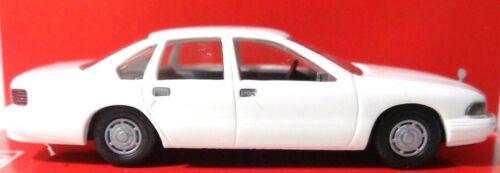 Busch 89122 chevrolet caprice blanco h0//1:87 nuevo