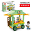Baukaesten-Sembo-Verkauf-Autohaus-Gebaeude-Figur-Spielzeug-Geschenk-Modell-Kind Indexbild 3