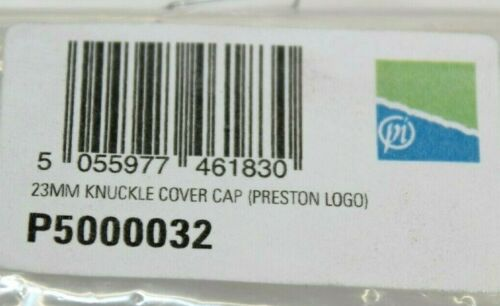 PAIR SPARE REPLACEMENTS PRESTON INNOVATIONS 23MM COVER CAPS P500032