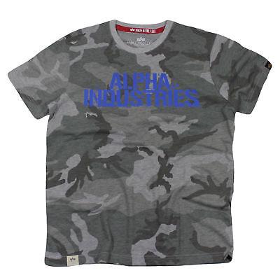 Diszipliniert Alpha Industries T-shirt Blurred T Grey Camo Eine GroßE Auswahl An Farben Und Designs