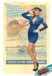 PIN-UP-68-1st-Ltd-Edition-Enhanced-Giclee-Painted-Signed-COA-by-KOUFAY