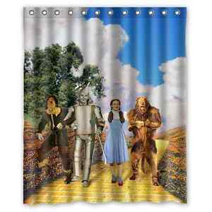 Image Is Loading Brand New Wizard Of Oz Shower Curtain 60