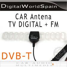 ANTENA DIGITAL DE COCHE PARA SINTONIZADOR TDT DVB-T AMPLIFICADOR FM CONECTOR SMA