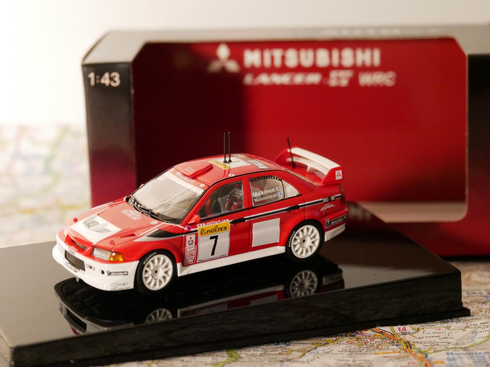 Autoart lancer evo 6 wcr rallye monte carlo 2001 sieger art.60141 neue 1 43