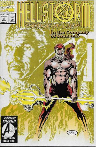 Strange Hellstorm Prince of Lies No.2 1993 Dr Rafael Nieves /& Michael Bair