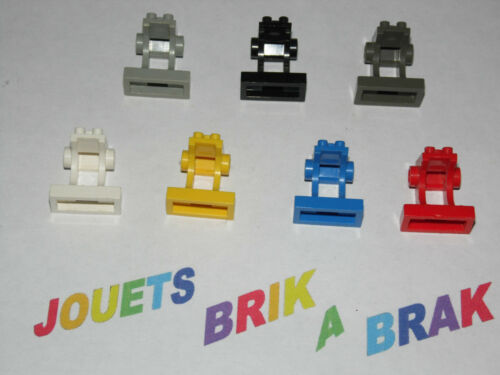 lego Minifig, Utensil Space Control Panel Choose color ref 2342