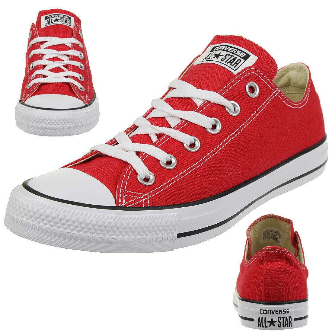 Converse All Star Bœuf Chuck Chaussures paniers en Toile Rouge M9696C