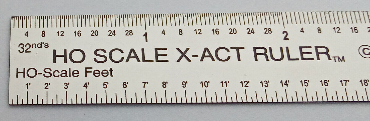 "Fairgate 6/"" Center Finding Ruler 3//4/"" Wide 23-106 Made In USA"