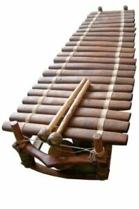 West African Bala with Gum Rubber Mallets - C Diatonic - Professional Marimba