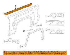 Chevrolet Gm Oem Bed Or Tailgate Top Molding Trim Protector Cap Right 22987368 Fits Chevrolet
