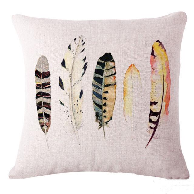 Fashion Decor Throw Pillow Cover Case Sofa Chair Seat Cushion Cover Pillowcase