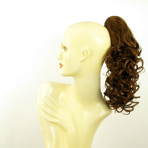 Hairpiece-ponytail-curly-golden-brown-copper-15-75-ref-3-30-peruk