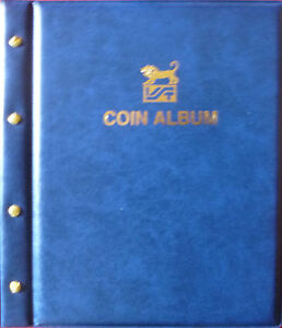 VST-LARGE-COIN-ALBUM-EMPTY-ALBUM-FRONT-amp-BACK-COVER-and-SCREW-POSTS-only