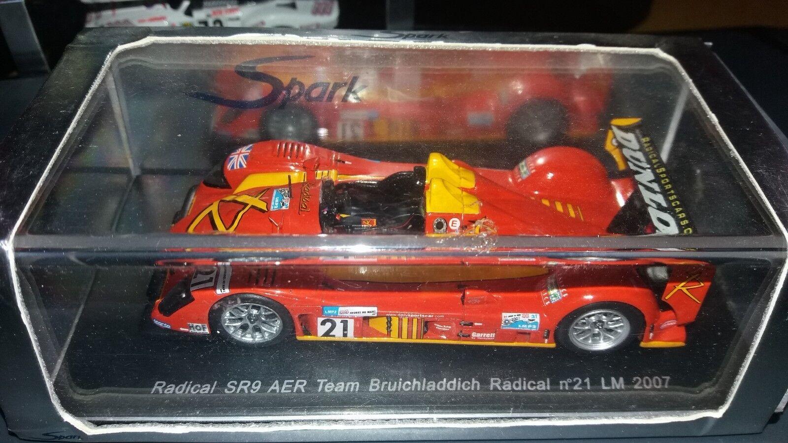 Spark 1 43 Radical SR9 AER  21 Le Mans 2007 S0357