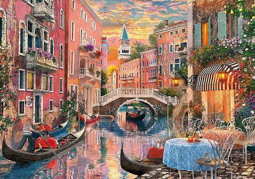 Venedig bei Sonnenuntergang Clementoni 6000 Teile Puzzle 36524 NEU+OVP