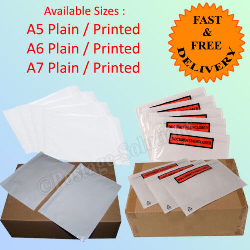 A6 Size DOCUMENTS ENCLOSURE PLAIN PRINTED ENVELOPES Cheapest Best Quality