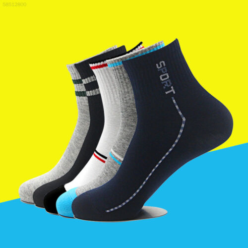 6D30 Short Ankle Socks Casual Cotton Low Cut Crew Sports Training Socks Clothing