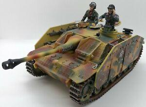 Collectors-Showcase-WWII-German-Stug-III-w-Interior-Panzer-Tank-Retired-Limited