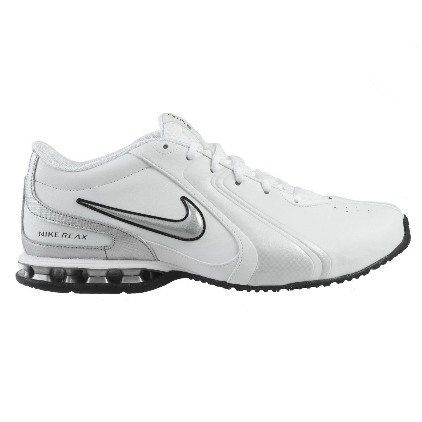 Nike Reax TR III SL Mens 333765-101 White Silver Cross Training Shoes Size 10