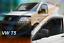 Windabweiser VW TRANSPORTER T5 2-türer 03-heute 2tlg HEKO dunkel Regenabweiser
