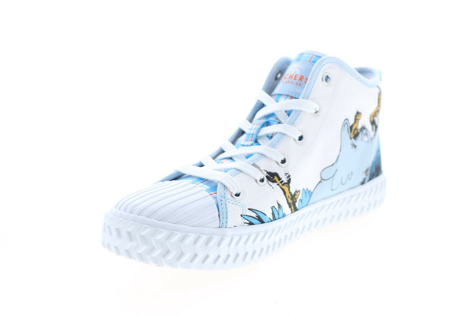 Skechers Street Trax A Person's A Person Womens Blue Collaboration Sneakers