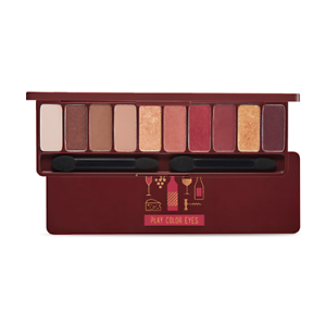 Etude-House-Play-Color-Eyes-Korea-Make-up-Eye-Shadow-Palette-10-Color-Wine-Party