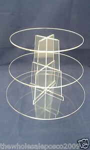 3-TIER-ROUND-ACRYLIC-CUP-CAKE-STAND-FOR-WEDDING-BIRTHDAY-amp-PARTY-CELEBRATIONS