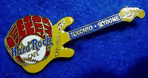 Skydome-Toronto-10TH-Anniversaire-Baseball-Gant-Guitare-Hard-Rock-Cafe-Pin-Le
