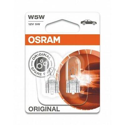 OSRAM Ultra Life W5W 501 2825ULT-02B Exterior parking lights W2,1x9,5d Twin