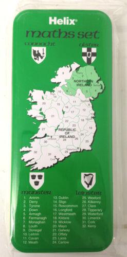 10 x Helix Ireland Mathematical Geometry Set 8 Piece