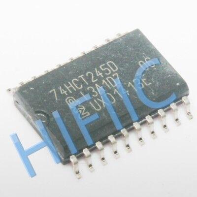 10PCS SN74HC245D Octal Bus Transceiver//3-speed 8-Way Radio74HC245 SOP20