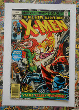 X-MEN #105 - JUN 1977 - FIRELORD APPEARANCE! - HIGH GRADE - NM- (9.2) CENTS!