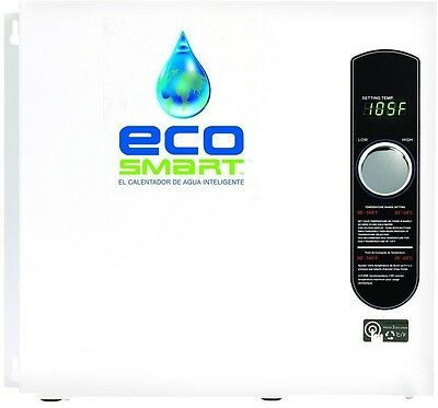 EcoSmart 36 kW 240-Volt Self-Modulating 6 GPM Electric Tankless Water Heater