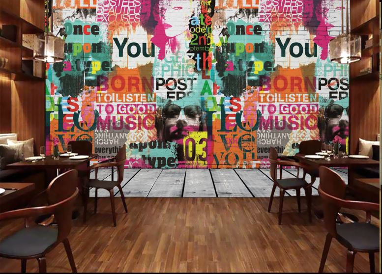 3D Graffiti Corner 868 Wall Paper Murals Wall Print Wall Wallpaper Mural AU Kyra