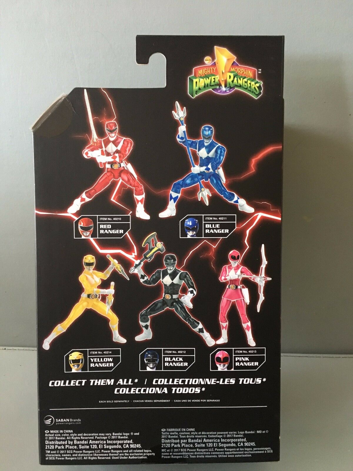 Power Ranger Legacy 16.5cm Metallic rot Ranger MISB  New New New in sealed box 2be5f9