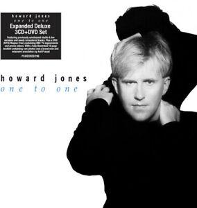 Howard-JONES-uno-a-uno-Deluxe-espansa-NUOVO-CD-DELUXE-ED-EXPANDE