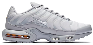 New NIKE Air Max Plus TN Men's Sneakers wolf gray platinum whtite all sizes New shoes for men and women, limited time discount