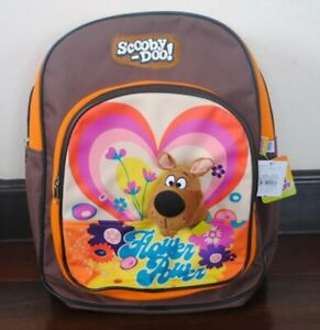 Scooby Doo Plush Doll Toys School Backpack Travelling Shoulder Book Bag 15/""