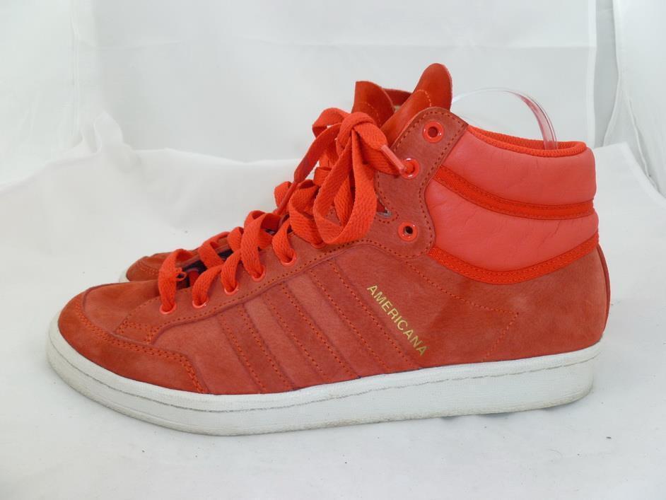Adidas Originals americana hombres 9,5 usaRojosuede Hi - top zapatos 13 deportivos g96457 07 / 13 zapatos a177a1