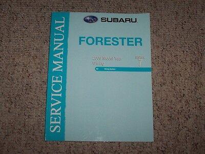 2009 Subaru Forester Wiring Diagrams Service Repair Manual ...