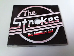 THE-STROKES-034-MODERN-AGE-034-CD-SINGLE-1-TRACKS