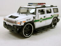 5.5 Diecast Model Hummer H2 Custom 1:35 Scale Suv U.s. Border Patrol 166