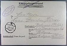 Camp Stalag 367 Tschenstochaw 1944 POW Prisoner of War Kriegsgefangenenpost L27