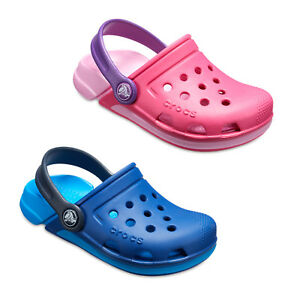e7839ad547cb Image is loading Crocs-Electro-III-Childrens-Summer-Lightweight-Kids-Clogs-