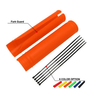Universal-Motorcycle-Front-Fork-Cover-Protector-Boot-Shock-Guard-Motocross