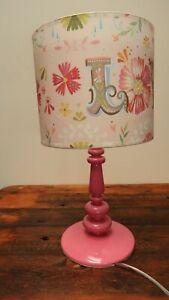 "Oopsy Daisy Fine Art For Kids Table Lamp "" Love """