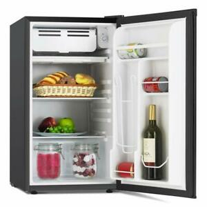 Mini Refrigerator Fridge Compact Refrigerator Removable Glass Shelf  3.2 Cu Ft