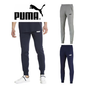 Puma-Essentials-Men-039-s-852428-Slim-Fit-Fleece-Knit-Jogger-Pants